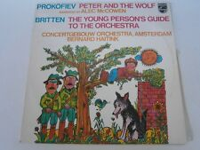 PROKOFIEV Peter und der Wolf BRITTEN Young Person´s Guide HAITINK PHILIPS LP
