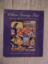 Wilson County Fair Award-Winning Recipes Cookbook, Lebanon TN