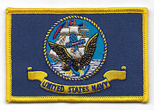US NAVY Flag Embroidered  Patch