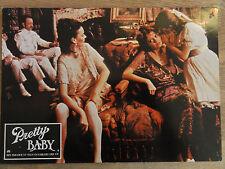 Aushangfoto Erotik * PRETTY BABY Louis Malle 1975 Brooke Shields Susan Sarandon