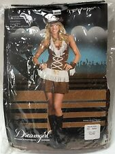 Women's Cowgirl Howdy Partner Halloween Costume Size Medium AS-IS