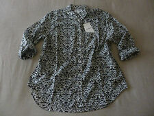 "NWT Womens COUNTRY ROAD Australia ""Printed Voile"" L/Sleeve Shirt - Large/14UK"