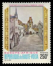 "UPPER VOLTA 230 (Mi315) - Europafrica ""Courtyard of the Palace"" (pf43433) LH"