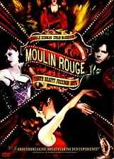 Moulin Rouge (DVD, 2005, 2-Disc Set, Baz Luhrmann) Nicole Kidman, Ewan McGregor