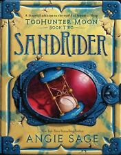 World of Septimus Heap: TodHunter Moon, Book Two: SandRider 2 by Angie Sage...