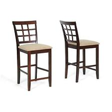 Katelyn Counter Height Stools (Set of 2) Dining Room Bar Modern Chair Kitchen
