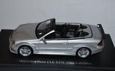 Kyosho 1/43 Mercedes Benz CLK DTM AMG Cabriolet Silver