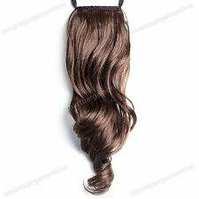 Ladies Hairpiece Ponytail Ponytail Hair Extension Clip Curly Hair Thickening #1