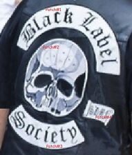 HEAVY METAL BLACK LABEL SOCIETY FAN CLUB: BLS 4-PATCH SET for BACK of BLS VEST