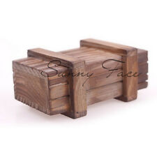 Compartment Intelligence Magic Puzzle Wooden Secret Box Gift Brain Teaser WLN1