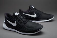 UK SIZE 8.5 Nike Free 5.0 Mens Running Gym Trainers BLACK - EU 43 (749592 002)