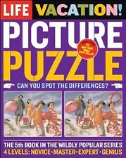 Vacation Picture Puzzle : Can You Spot the Differences? by Life Magazine...