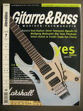 GITARRE & BASS 1998 # 7 - YES HISTORY DEVIN TOWNSEND NGUYEN LE EAGLE EYE CHERRY