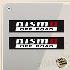 PEGATINA KIT NISMO OFF ROAD 4X4 VINILO VINYL STICKER DECAL AUFKLEBER ADESIVI