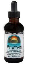 Source Naturals Melatonin Liquid Orange Sublingual - 2 oz