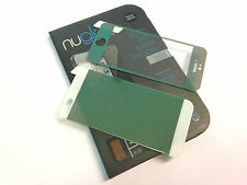 Nuglas GREEN Front + Back Coloured Tempered Glass Screen Protector iPhone 5 / 5S