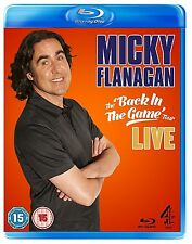 Micky Flanagan Back In The Game Live BRAND NEW AND UK Region B BLURAY