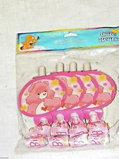 NEW CARE BEARS 1st  BIRTHDAY GIRL  8-PARTY BLOWOUTS    PARTY SUPPLIES