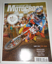 Transworld Motocross Magazine Kawasaki KX250F September 2013 071714R1