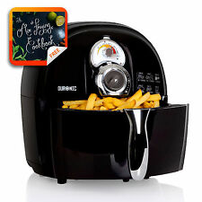 Duronic AF1 /B Healthy Air Fryer Multicooker - Black - Recipe Book Included