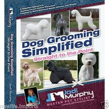 Dog Grooming Simplified Book - dog grooming guide, dog grooming instruction