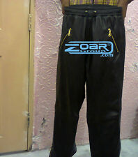 Men Jogging Pants, Lamb leather Sweat Pants, leather joggers, Jogger with zips