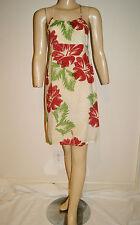 Hawaiian Rayon Flower Sun Dress by Hilo Hattie - Size XS - Designed in Hawaii