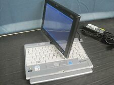 "Fujitsu LifeBook P1610 8.9"" Tablet WiFi 30G Hard Drive AC Adapter Swivel Screen"