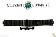 Citizen Eco-Drive S082846 22mm Black Ion-Plated Stainless Steel Band S083001