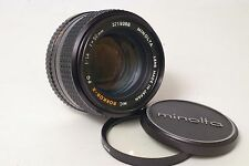 F59017~ FAST Minolta 50mm f/1.4 MC Rokkor-X PG Lens – Glass *MINT-*