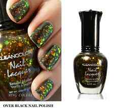 NEW Kleancolor CHUNKY HOLO BLACK 3D Holographic Glitter Nail Polish 236