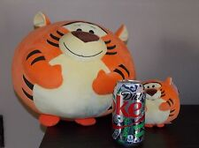 "Tigger  Pooh Friend TY BEANIE BALLZ LARGE 13""  & 5"" DISNEY PLUSH  Set"