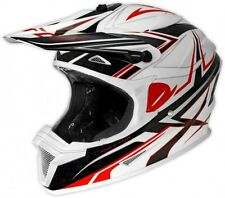 UFO Spectra Boost Motocross MX Enduro Helmet -  XL 61-62cm White Black Red