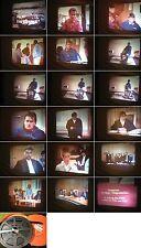 16 mm Film ca. 1991-Jugend-Gericht-Polizei- Richter-Verfahren-Antique film