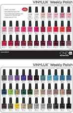 Lot 12-pc Set CND VINYLUX VINILUX WEEKLY NAIL POLISH 0.5 oz each~Lasts 7+ days