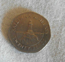 BAILIWICK OF JERSEY 20p COIN