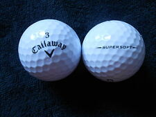 "55 Callaway ""SUPERSOFT"" BLACK Tic-Palline da Golf - ""Pearl/A"" voti."