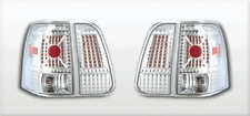 2003-2006 Lincoln Navigator L.E.D. LOOK TAIL LIGHTS CHROME  4PC Rear Lamp
