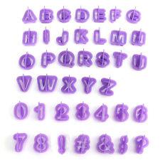 40pcs Icing Cutter Mould Alphabet Number Letter Fondant Cake Decor Set Optimal
