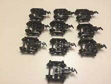 HO Scale Tyco Talgo Trucks W/Couplers  Lot Of 10 - Train Car Replacement Parts**