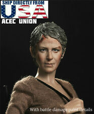 "1/6 The Walking Dead Carol Peletier Head Sculpt For 12"" Hot Toys Phicen PREORDER"