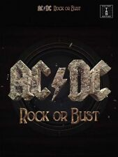 AC/DC Rock Or Bust Guitar Tab Edition Book NEW!