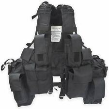 SADF M83 South African Tactical Airsoft Combat Assault  Cop Vest Carrier Black