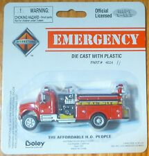 Boley #402411 International Fire Truck Pumper Red (1:87 Scale)