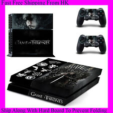 New Game Of Thrones Decal Stickers For Sony PS4 (Concole + 2 Controllers)