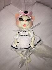 "Wilde Imagination Resin BJD Valentine Doll 5"" Evangeline Ghastly~ NRFB ~"