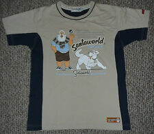 Vintage 1984 Santaworld (Tomteworld) Shirt Sweden Theme M Christmas Santa Claus