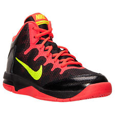 Nike Without a Doubt Basketball Sneakers Black/Crimson  Boys Size 13 1/2