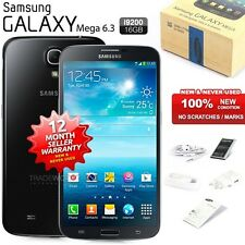 New Sealed Unlocked SAMSUNG Galaxy Mega I9200 Black 4G LTE Android Mobile Phone