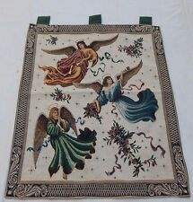 Vintage French Beautiful Fairy Scene Tapestry 66x86cm T749